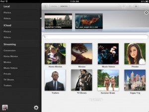 Video Safe version 2.0 (iPad) - Library