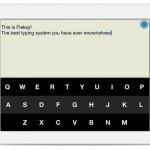 Fleksy for iPad 1