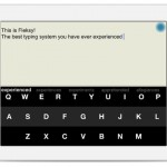Fleksy for iPad 2