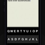 Fleksy for iPhone 1