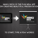 Haiku Deck 1