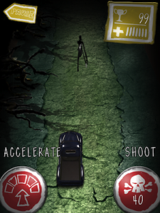 Slender Man Racing Car Race Real Addictive Rising Games by Hugo Rocha screenshot