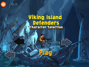 Viking Island Defender by Best Cool Free Games, LLC screenshot