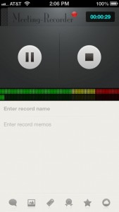 Meeting-Recorder by Lin Fei screenshot