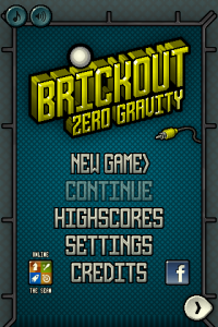 Brickout Zero Gravity by Abel Vincze screenshot