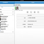Microsoft Lync 2013 for iPad 4