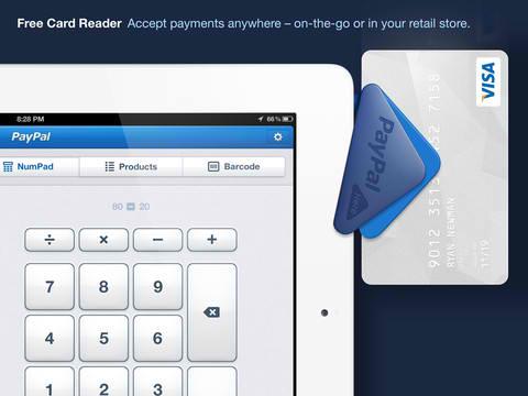 paypal app ipad