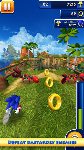 Fast And Frenzied Endless Running Game Sonic Dash Out Now ...