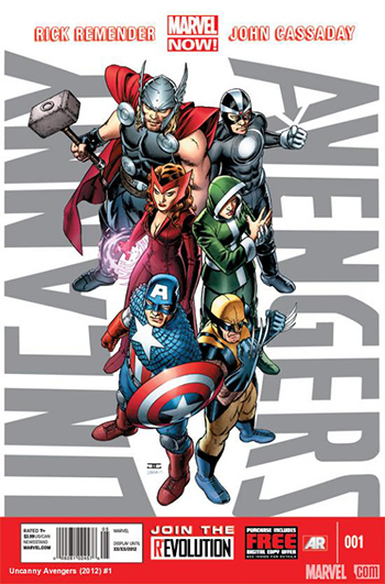 Issue No. 1 of the Uncanny Avengers.