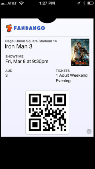 Passbook tickets are now easier to scan.