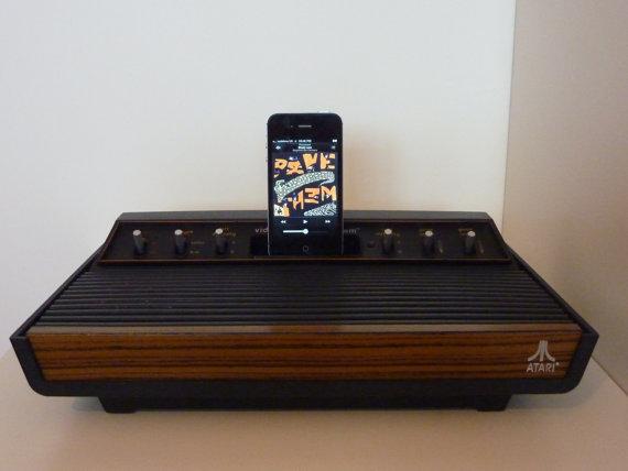 Atari 2600 As iPhone Speaker Dock