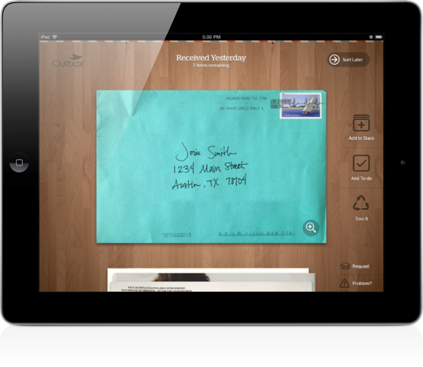 Outbox Mail app
