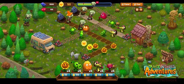 plant vs zombies 2 games free