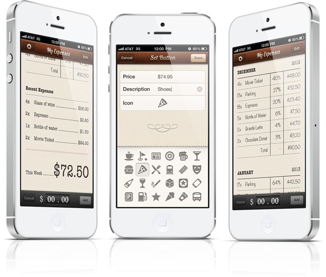 keep track of your micro expenses with cents