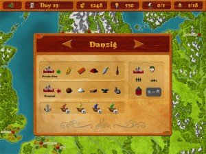 Medieval Merchants - A historical trading simulation by rapidrabbit GbR screenshot