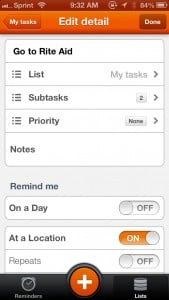 Complete - Reminders, Tasks and Grocery by DANIELA PETROVA screenshot