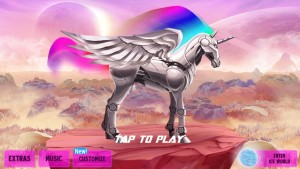 Robot Unicorn Attack 2 by [adult swim] screenshot