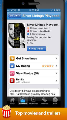Movies by Flixster - AndroidTapp