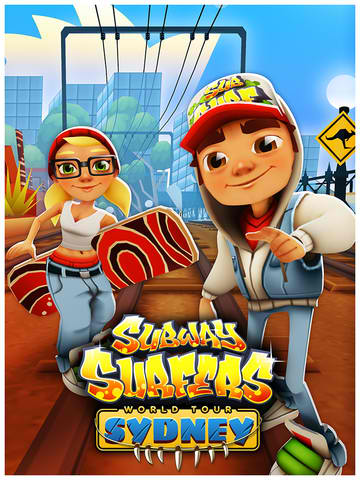 08th, 2013 app updates endless running games Kiloo subway surfers
