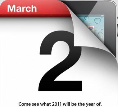 iPad 2 event, 2011