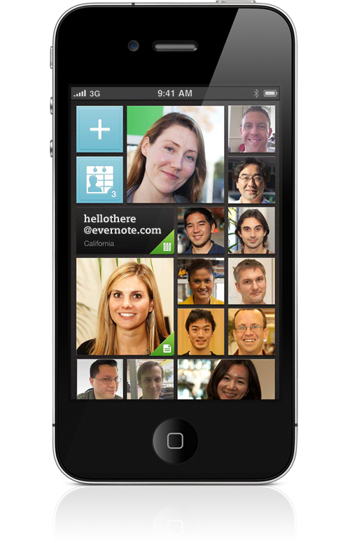 Evernote hello updated with passcode lock and better business card evernote hello updated with passcode lock and better business card scanning reheart Choice Image