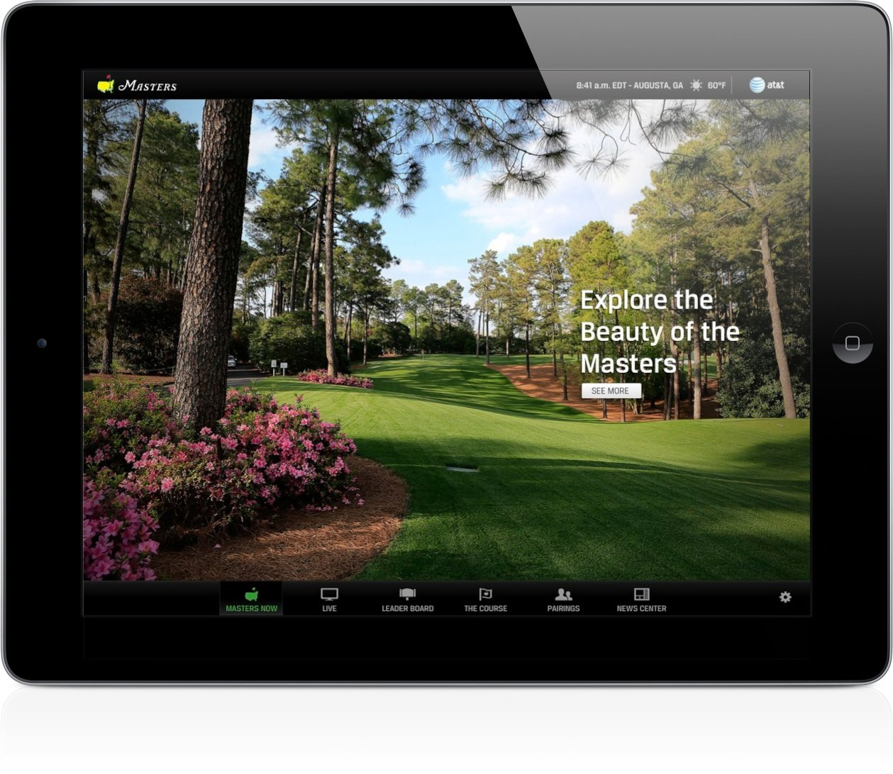 The Masters for iPad