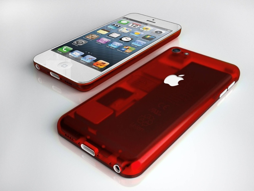 Budget iPhone Concept - Red