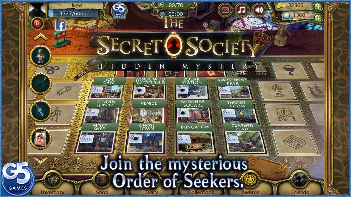 Secret society game friends
