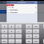 AnyList for iPad 4