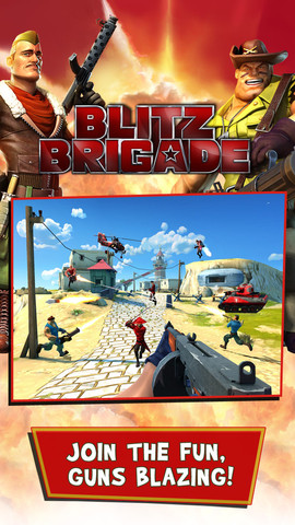 lock and load for gameloftu002639s team fortress style shooter game gameloft teases blitz brigade its like team fortress 2 for android 270x480