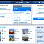 Booking.com for iPad 1