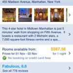 Booking.com for iPhone 4