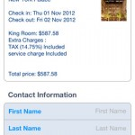 Booking.com for iPhone 5