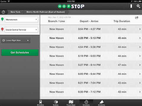 Hopstop for ipad expands coverage to offer transit directions in new