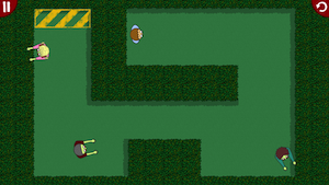 Escape From The Zombies by Hisashi Oiwa screenshot