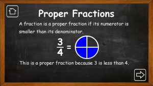 Fractions by Matt Rayner screenshot