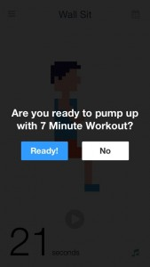 Workout (7 Minute Body Fitness Exercise) by George Liang screenshot