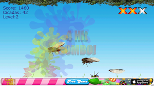 Cicada Samurai by Spilling Coffee Media LLC screenshot
