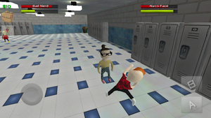 Bad Nerd vs Zombies by I Hway Yu screenshot