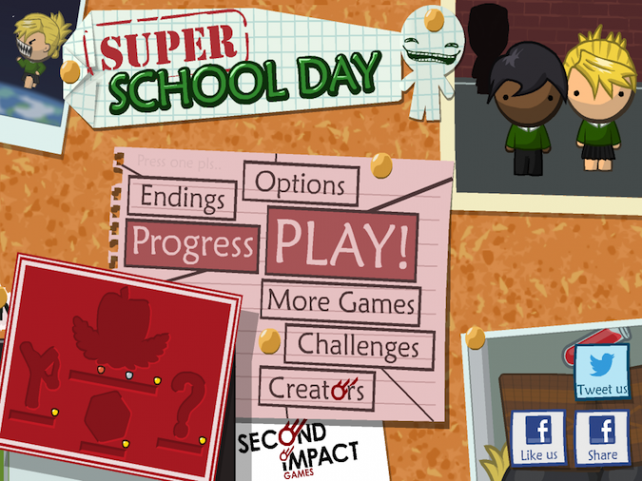 Quirky App Of The Day: Choose Your Educational Destiny In Super School Day