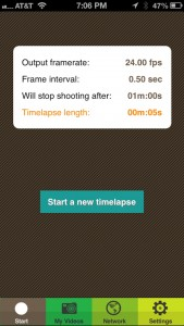 Timelapse Pro by Dizzy Studios screenshot