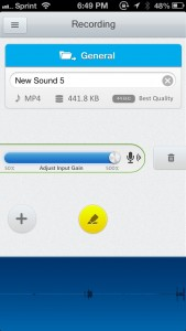 Recordium - Highlight & Annotate Voice Recordings by Pichak co. screenshot