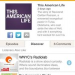 Stitcher Radio for iPhone 1