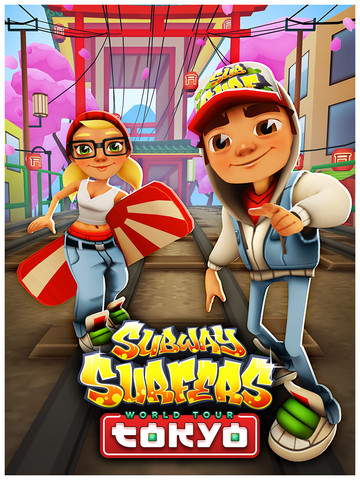 of this year, the popular train-themed endless runner Subway Surfers