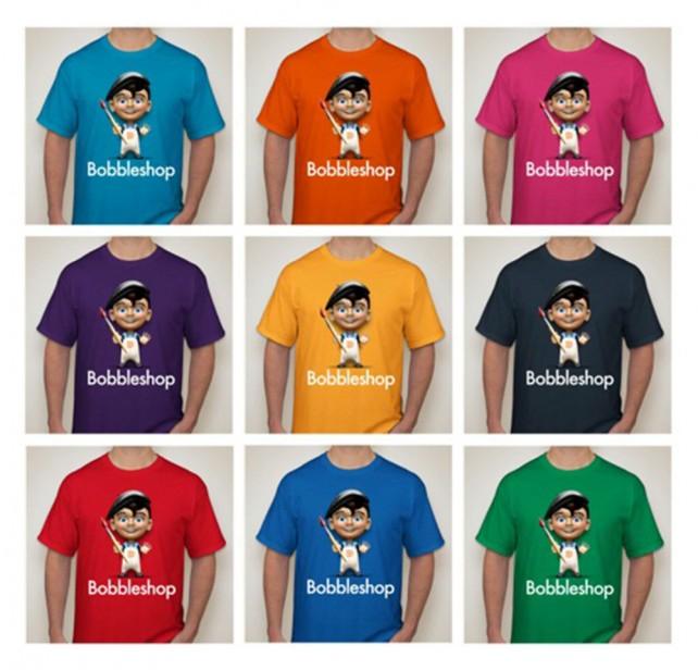 BobbleShop - T-Shirt Colors