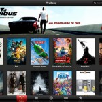 iTunes Movie Trailers for iPad 1