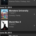 iTunes Movie Trailers for iPhone 4