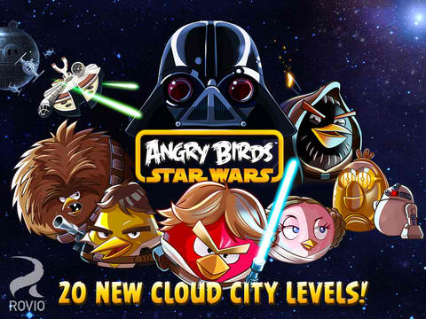 Play As Lando Bird And Help Take On The Evil Lard Vader In Angry Birds Star Wars