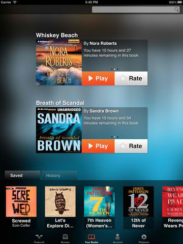Official Simply Audiobooks App Updated With Major User Interface Redesign