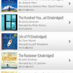 Audiobooks from Audible for iPhone 3
